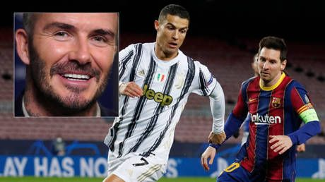 'Imagine Phil Neville managing those two': Fans laugh off David Beckham's suggestion that he could attract Messi & Ronaldo to MLS