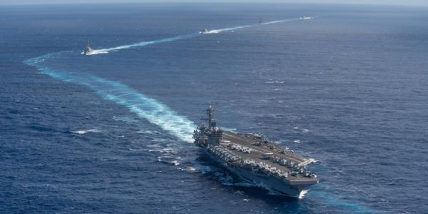 Some US Navy sailors from the aircraft carrier hit by the coronavirus will be quarantined in vacant hotels in Guam