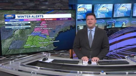Watch: Cloudy and cool today