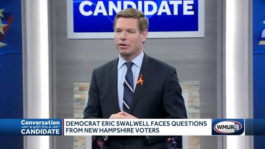 Swalwell takes questions from NH voters