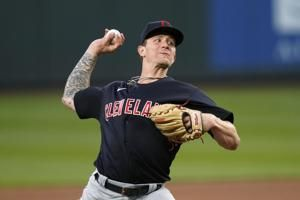 Zach Plesac loses no-no in 8th as Cleveland tops Seattle 4-2