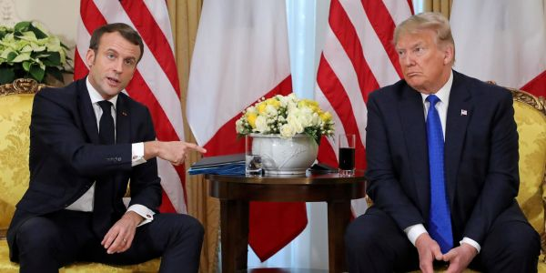 Trump slammed Macron for 'insulting' NATO. But the French president was actually attacking Trump for damaging the alliance
