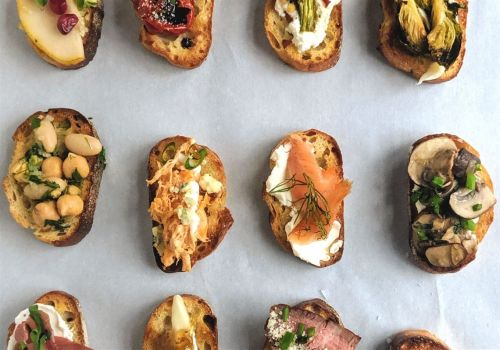 Counting down the holidays with 12 days of crostini