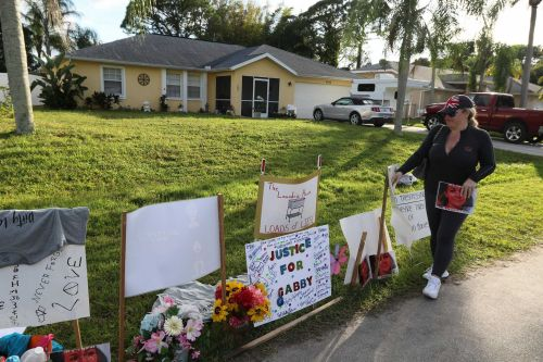 Officials remove Petito memorial from front lawn of Laundrie family property