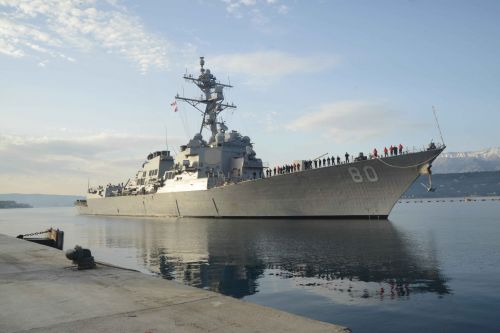 U.S. drops plans to send destroyers into the Black Sea due to concerns over Russia