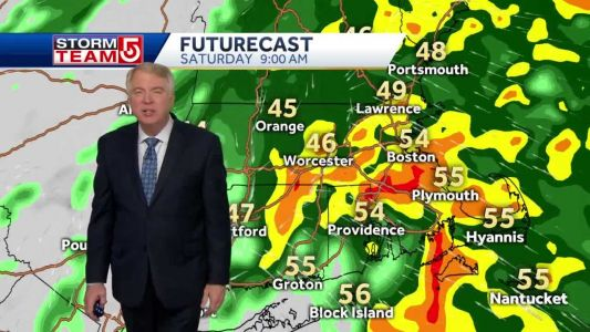 Video: Latest storm system to bring heavy rainfall, warm air