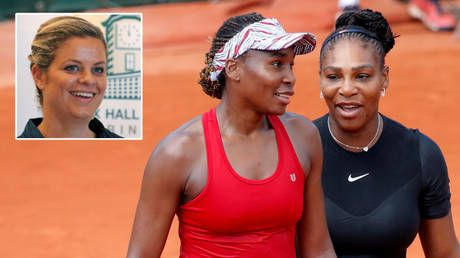 Break point: Tennis great Clijsters claims Venus & Serena Williams earned 'a lot of sh*t' for starting 'trend' that Osaka followed