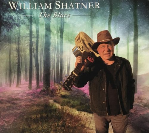 With assists from guitar legends, William Shatner sings the blues