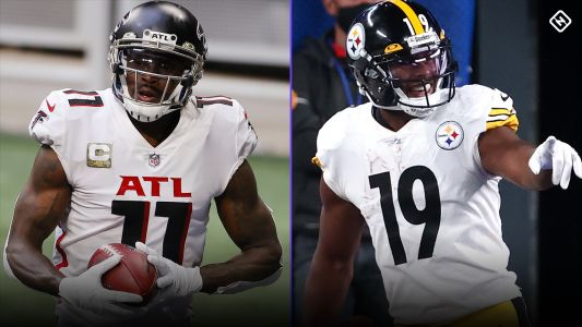 Fantasy Injury Updates: Julio Jones, JuJu Smith-Schuster impacting Week 12 waiver wire pickups, WR rankings