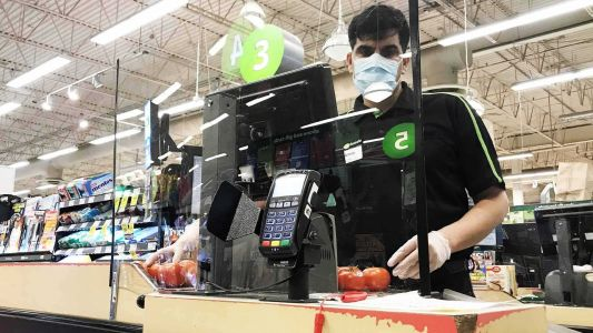 Grocery store hires security, workers call out shoppers ignoring COVID-19 restrictions