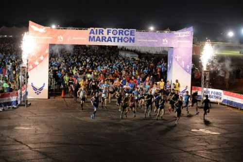 Wright-Patterson AFB hosts 23rd Air Force Marathon