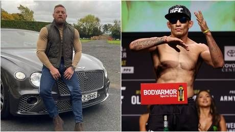 'I just wanna kill one of you rats': Conor McGregor issues 'death threat' in ugly row with UFC rival Tony Ferguson