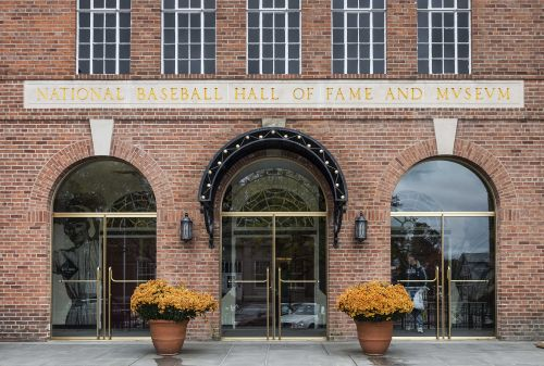 The baseball Hall of Fame won't have any new players in the class of 2021