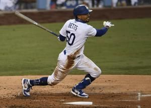 Dodgers' Betts unseats Yankees' Judge for MLB's top jersey