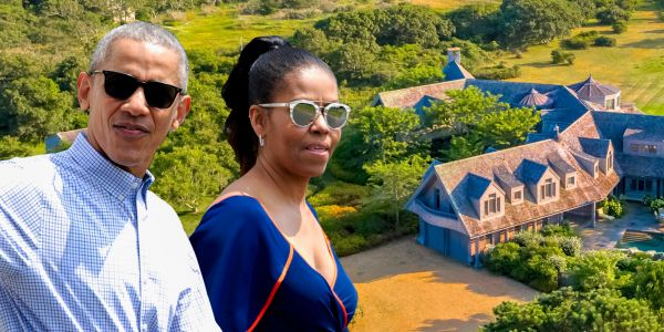 The Obamas reportedly just bought a $12 million house on Martha's Vineyard. Take a look inside the 7-bedroom waterfront mansion
