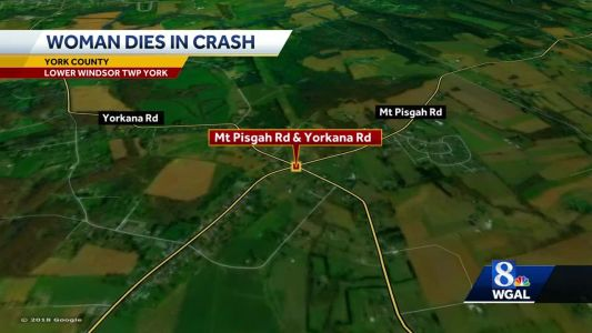 Woman killed in crash in Lower Windsor Township