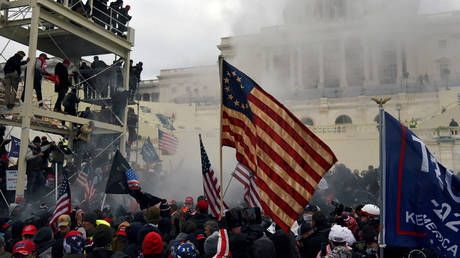 54% of people believe Trump should be CRIMINALLY charged with inciting a riot following storming of Capitol - poll