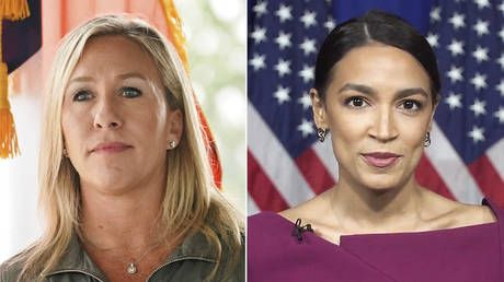 Marjorie Taylor-Greene wants Green New Deal debate with AOC after taking a week to read '14 page communist manifesto'
