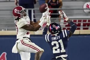 Saban says Alabama's Jaylen Waddle out for rest of season