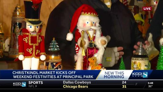 Christkindl Market opens in new location