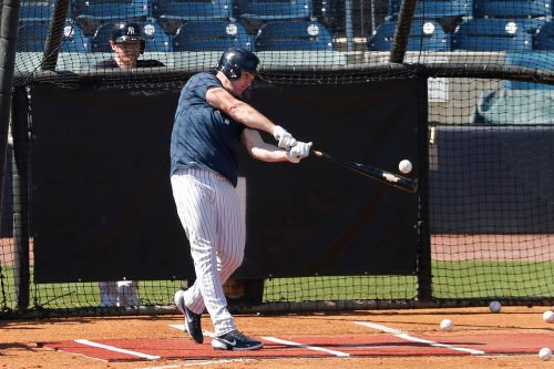 Jay Bruce isn't deterred by his long Yankees odds