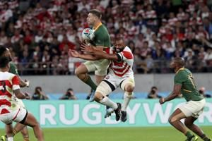 No shocker this time: Springboks smother Japan at World Cup