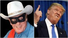 Trump Mocked For Claiming His Face Mask Makes Him Look Like 'Lone Ranger'