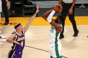Jaylen Brown scores 40, Celtics beat Lakers 121-113