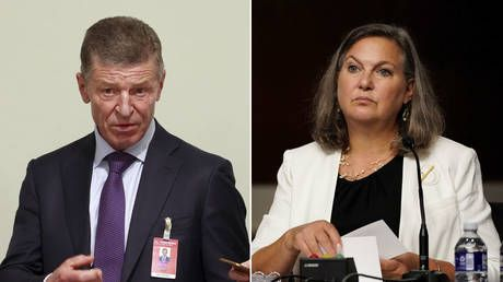 Kremlin says US & Russia agree Ukraine must give Donbass special autonomous status as Nuland hails productive meeting in Moscow