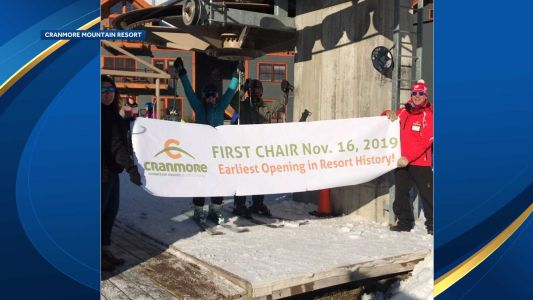 Cranmore Mountain celebrates its earliest opening on record