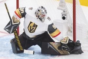 Vegas leans on 1-2 goalie combo to even series vs Canadiens