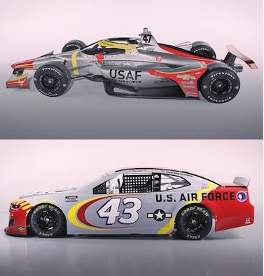 Air Force Recruiting unveils Tuskegee Airmen paint scheme for Indy 500, NASCAR races