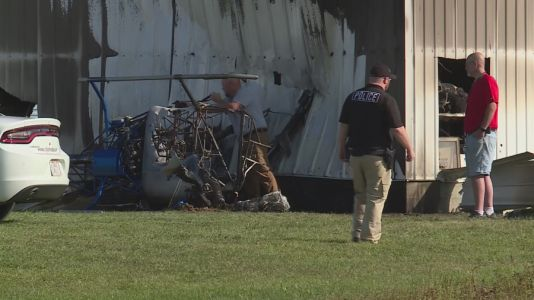 Helicopter crash in Red Bud, Illinois kills pilot