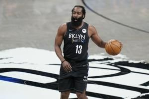 Nets: Harden out indefinitely after hamstring setback
