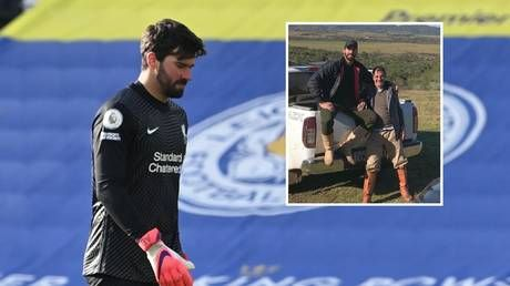 Tragedy as father of Liverpool star Alisson found dead at age 57 after drowning