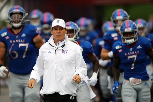 Kansas football coach Les Miles placed on leave amid misconduct allegations at LSU