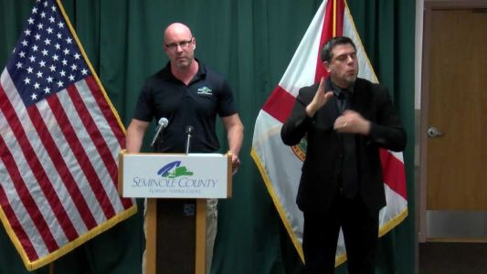 Seminole County officials announce executive order requiring social distancing