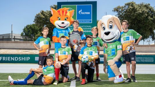 'Uniting friends - uniting the world!' - Gazprom International Children's Social Programme Football for Friendship goes digital