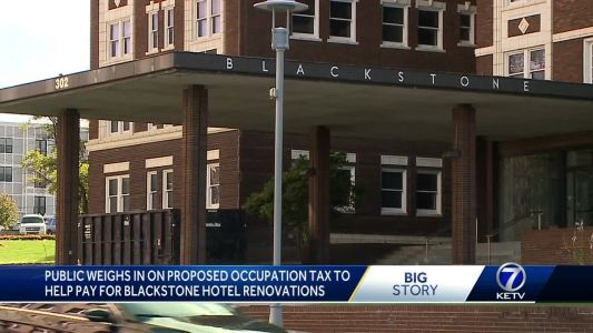 Public weighs in on proposed occupation tax to help pay for Blackstone Hotel renovations