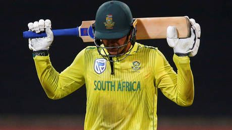 What a Kock up: Cricket South Africa hold emergency talks over star Quinton De Kock's refusal to take knee at T20 World Cup