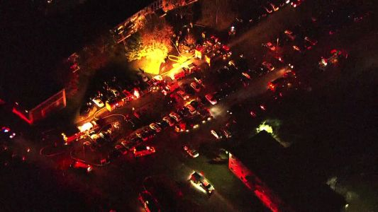 Fire inside apartment building in Robinson Township