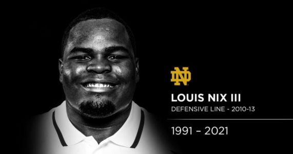 Former Notre Dame nose tackle, NFL player Louis Nix found dead at the age of 29
