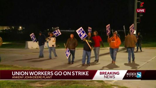 John Deere workers go on strike after rejecting contract