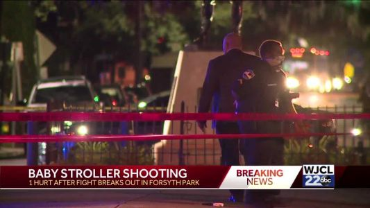 Man, woman pushing baby stroller shoot another man in park during fight, police say