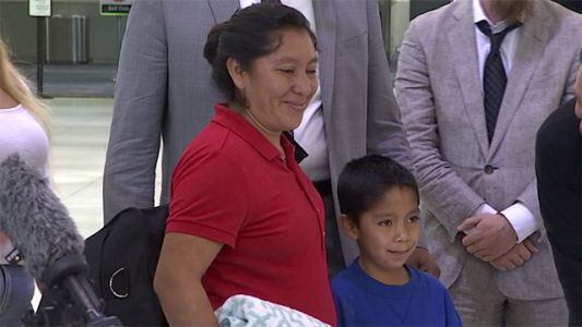 Mom, 7-year-old son separated at border are reunited