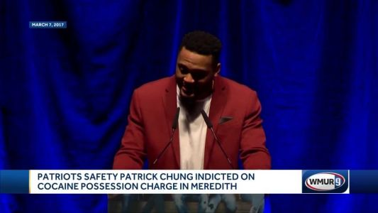 Patriots safety Patrick Chung indicted on cocaine possession charge in Meredith