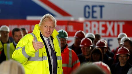 One trick Tory? BoJo gets blasted on social media for 'get Brexit done' overkill