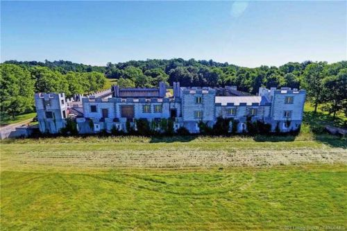 There's a castle for sale in Indiana