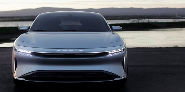 Saudi Arabia's reportedly looking to invest in Tesla competitor Lucid -we took its 1,000-horsepower electric luxury sedan for a spin