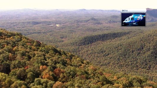 Check out the beautiful changing fall leaves in the South Carolina mountains